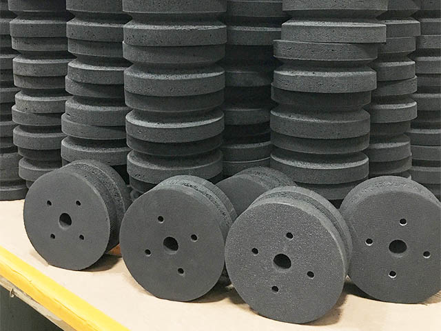 foam conveyor pickle wheels