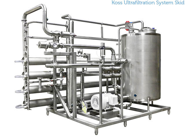 Koss Ultrafiltration System Skid