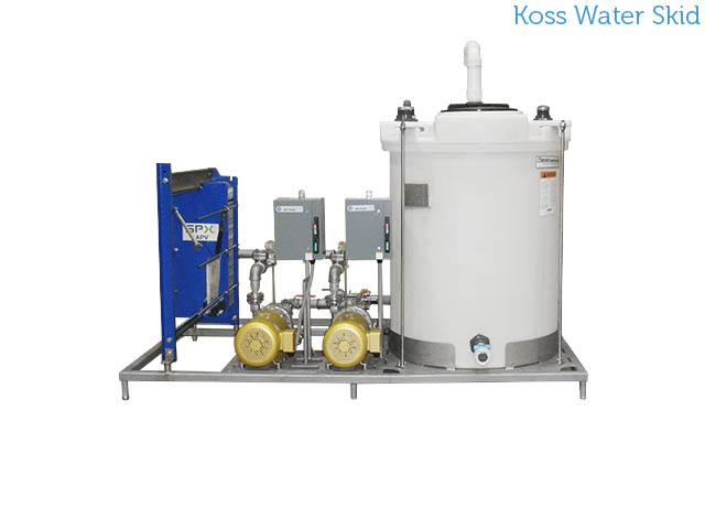 Koss Industrial water skid