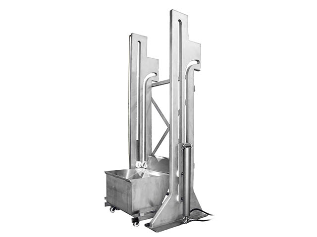 Koss Industrial Hydraulic Dumper Column Lift